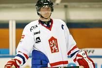 Pokyny Ondra Rybář rozdával svým svěřencům i při hokejovém souboji.