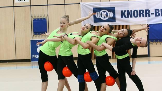 Jablonecké gymnastky TJ Sokol Jablonec nad Nisou Sportcentrum