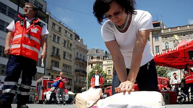 Ukázka první pomoci
