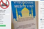 Poplašná zpráva o plánované stavbě mešity ve Bzí u Železného Brodu
