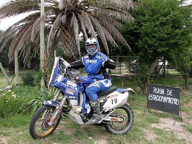 Martin Macek na Dakaru.