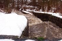 Rozvodněný Kopaňský potok