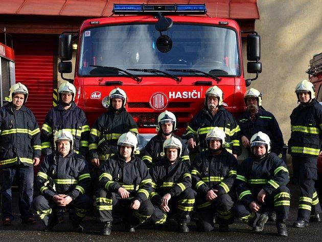 Dobrovolní hasiči ze Smržovky.