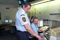 Operační středisko profesionálních hasičů v Jablonci