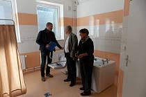 Středisko osobní hygieny v DPS v Železném Brodě