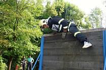 Soutěž Nejtvrdší hasič přežívá v Jablonci