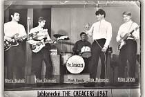 Jablonecká hudební skupina v roce 1967.