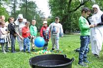 Dětský den v Tyršově parku
