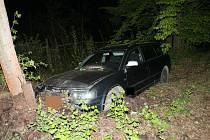 Fotografie z místa úterní nehody.