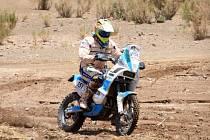 Milan Engel úspěšně absolvoval Dakar 2015.