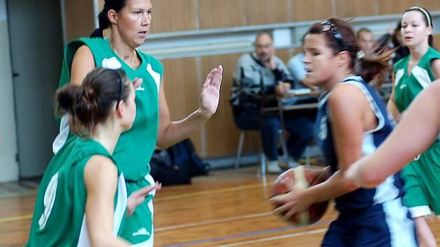 Basketbalistky Bižuterie porazily doma Litomyšl 78:49
