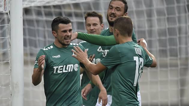 Fotbalisté Jablonce nad Nisou.