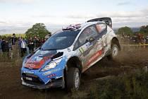 """Na letošní Rally Bohemia se představí """"šílený"""" Nor Mads Ostberg. Na snímku ze závodu v Argentině."""