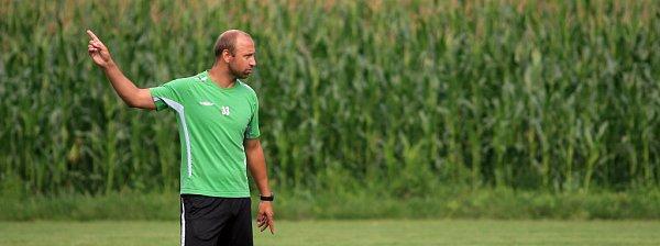 Pavel Drsek má jasný cíl. Chce vychovat hráče pro první ligu.