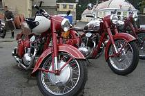 Setkaní motocyklů československé výroby  2007.