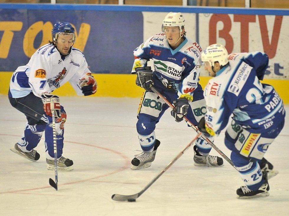 V dalším kole II. ligy hokeje hostili jablonečtí hokejisté vedoucí tým soutěže II. Liga HK Tábor.