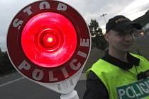 Policejní kontrola. Ilustrační snímek