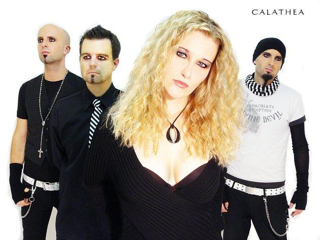 Calathea  Liberecká gothic rocková formace. Předskupina HIM nebo Type´O´Negative.