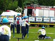 Okresní kolo soutěže v požárním sportu Plamen se konalo v sobotu na fotbalovém hřišti v Radčicích. Skvěle si vedla družstva ze Zlaté Olešnice. Mladí hasiči zvítězili v kategorii starší i mladší.