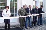 Otevření expozice Rudolfa Burkerta