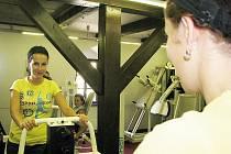 Dostaveníčko se dvěma soutěžícími - Andreou Dobiášovou a Danou Eršilovou jsme si dali ve čtvrtek 12. srpna v Cardiofitness