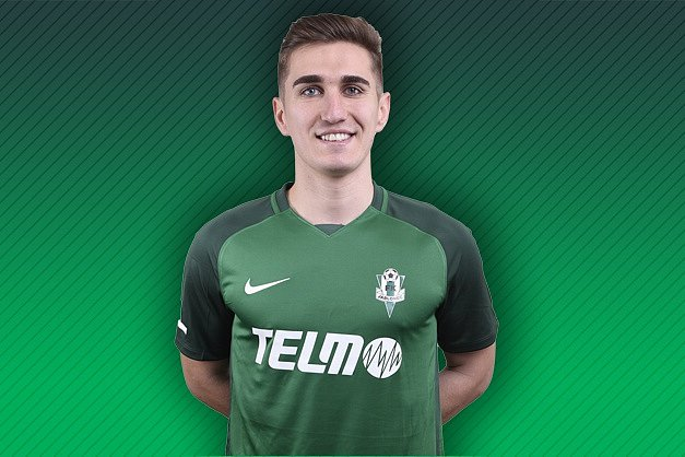 Rumunský fotbalista Bogdan Vatajelu v jabloneckém dresu.