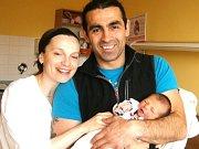 Adam Ayhan Yucel se narodil Vladimíře Medkové a Ayhan Yucel ze Železného Brodu 30.3.2015. Měřil 48 cm a vážil 2800 g.