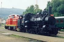 Parní ozubnicová lokomotiva 404.003
