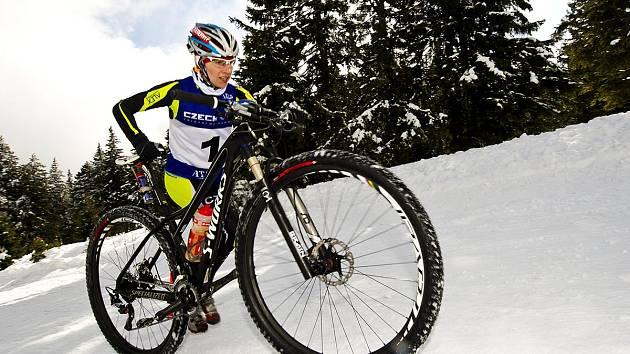 Helena Erbenová se stala mistryní republiky v zimním triatlonu.