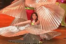 Své choreografie obohacují různými rekvizitami jako je závoj, šátky, hůlka, svíce, vějíře a křídla. Taneční skupina Tasmina se také věnuje Tribal stylu a cikánským tancům. Jak to vypadá jako celek obdivovali návštěvníci orientálního plesu v Kokoníně.