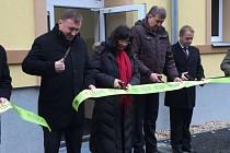 Azylový dům otevírala i ministryně práce a sociálních věcí Michaela Marksová Tominová