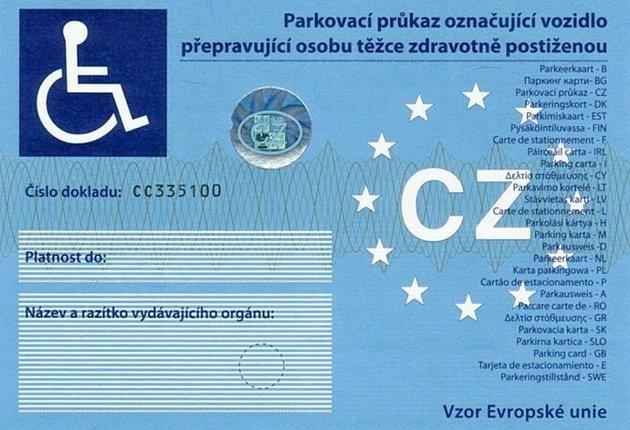 Parkovací průkaz ZTP
