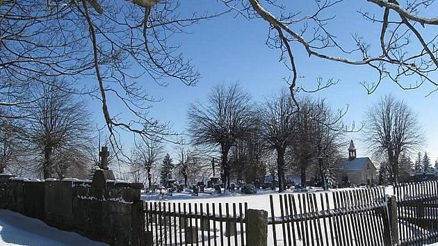 Hřbitov na Krásné