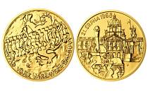 Emise medailonu z ryzího zlata dosáhne počtu pouhých devatenácti kusů. Pražská mincovna razí také variantu stříbrnou a měděnou.