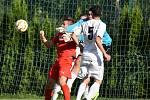 Pohárové utkání A týmu Mšena proti Harrachovu