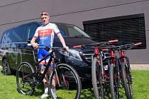 """V předposledním kole jsem zaútočil, a to druhé místo jsem vybojoval právě já. Se závodem jsem maximálně spokojený,"""" řekl Ondřej Zelený."""