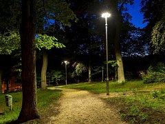 Park na Šumburku pod kostelem
