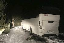 Nehoda autobusu - ilustrační snímek