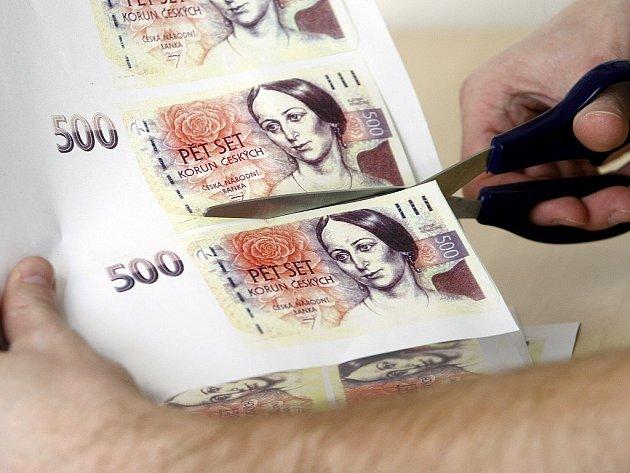 Výsledek obrázku pro falešné bankovky