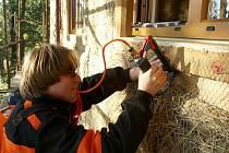 Petr Klápště postavil pasivní dům z přírodních materiálů