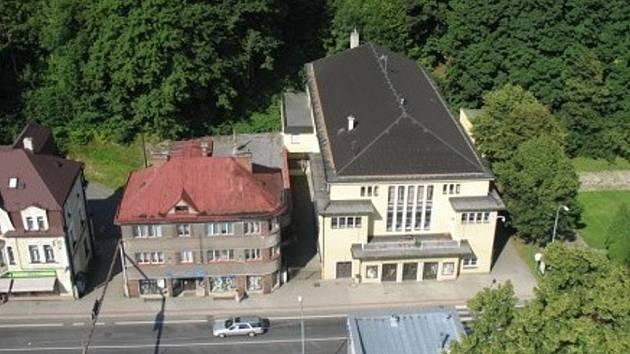 Tanvald. Městské kino Jas.