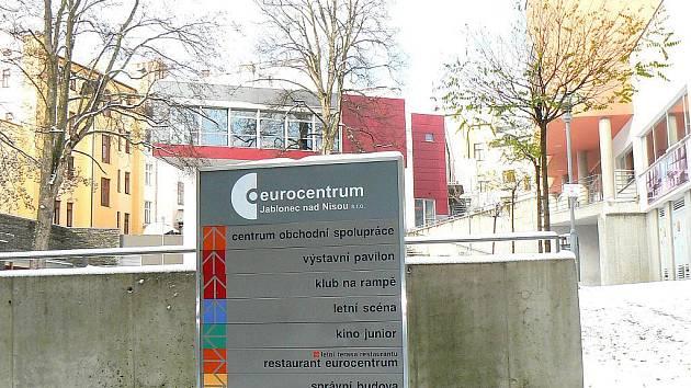 Jablonec nad Nisou. Eurocentrum, Klub Na Rampě a Letní scéna.