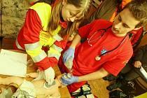 Školení záchranářů. Ilustrační snímek.