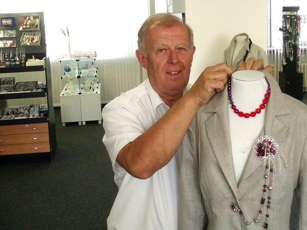 Pavel Kopáček, předseda Svazu výrobců bižuterie