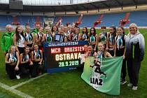 Úspěšné družstvo jabloneckých dorostenek na konci sezony uspělo v Ostravě.