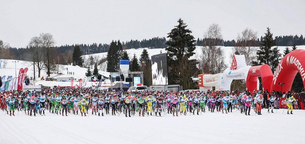 Start ČEZ Jizerské 50