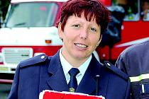 Iva Kořínková, členka odborné rady mládeže Okresní sdružení hasičů Jablonec