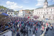 Návštěva prezidenta ČR Miloše Zemana v Železném Brodě