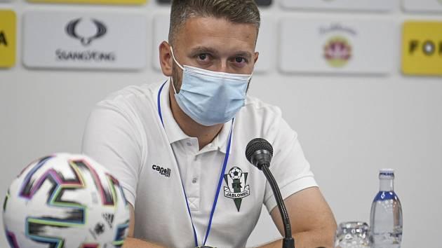 Tiskový mluvčí FK Jablonec Martin Bergman.