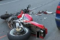 V úterý pět minut před šestnáctou hodinou se v jablonecké ulici Pražská stala dopravní nehoda.